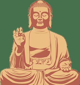 Buddha clipart