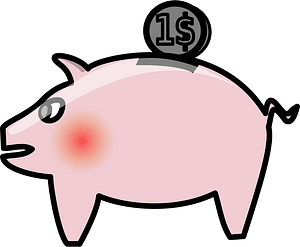 Penny bank clipart