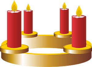 Fourth advent clipart