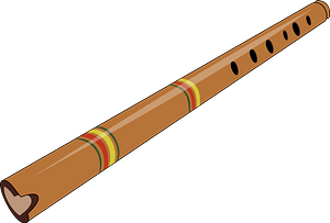 Quena - Peruvian Flute clipart