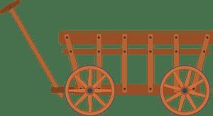 Handcart clipart