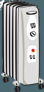 Portable Heater clipart