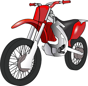 Moped clipart