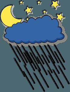 Rainy Night clipart