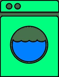 Washing machine clipart