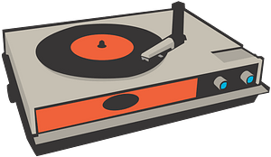 Record Player clipart