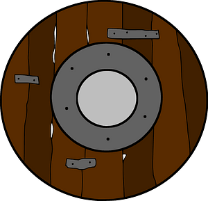 Rondache, French Shield clipart