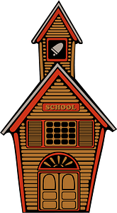Country School clipart