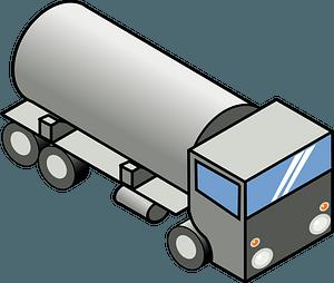 Tanker Truck clipart