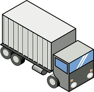 Semi Trailer clipart