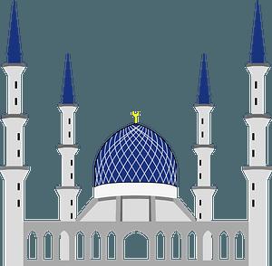 Shah Alam Mosque clipart