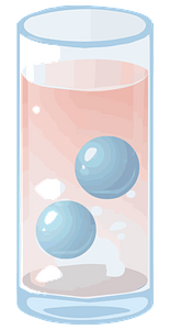 Drink in a glass clipart
