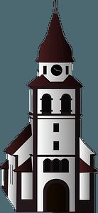 Small Church clipart