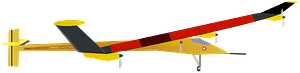 Solar Impulse Plane clipart