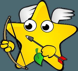Cupid Star clipart