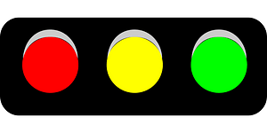 Horizontal Traffic Light clipart