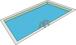 In-ground Swimming Pool clipart