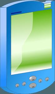 Blue Smartphone clipart