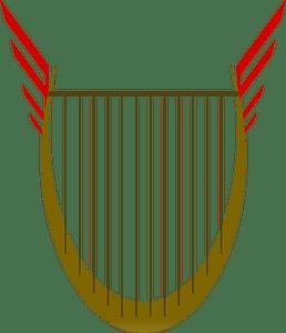 Lyre clipart