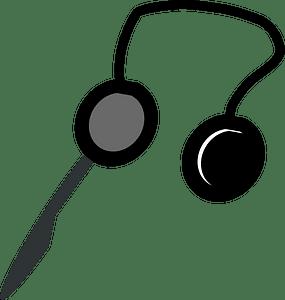 Headphones clipart