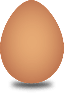 Brown Egg clipart