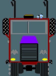 Big Rig Cab clipart