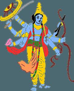 Vishnu clipart