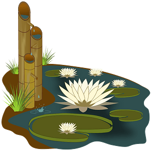 Vitoria Regia Bamboo clipart