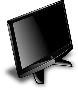 Computer monitor clipart
