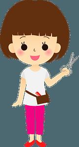 Beautician Hairdresser Woman clipart