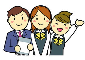 Business People who Work for One Company clipart