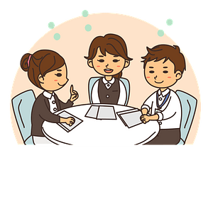 Business People are Meeting clipart