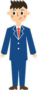 Businessman Young Man clipart