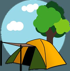 Camp Tent clipart
