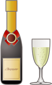 Champagne Drink clipart