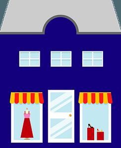 Clothes Shop clipart