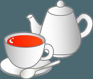 Cup of Black Tea clipart