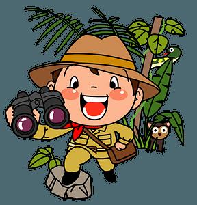 Explorer Boy clipart