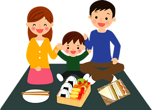Family is Having a Picnic clipart