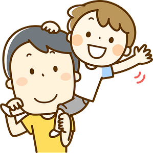 Father and Son clipart