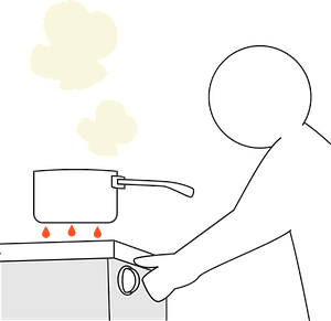 Gas Stove Flame clipart