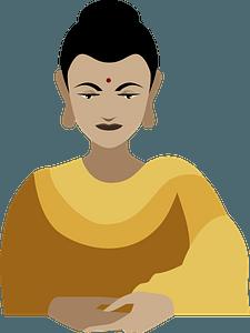 Gautama Buddha clipart