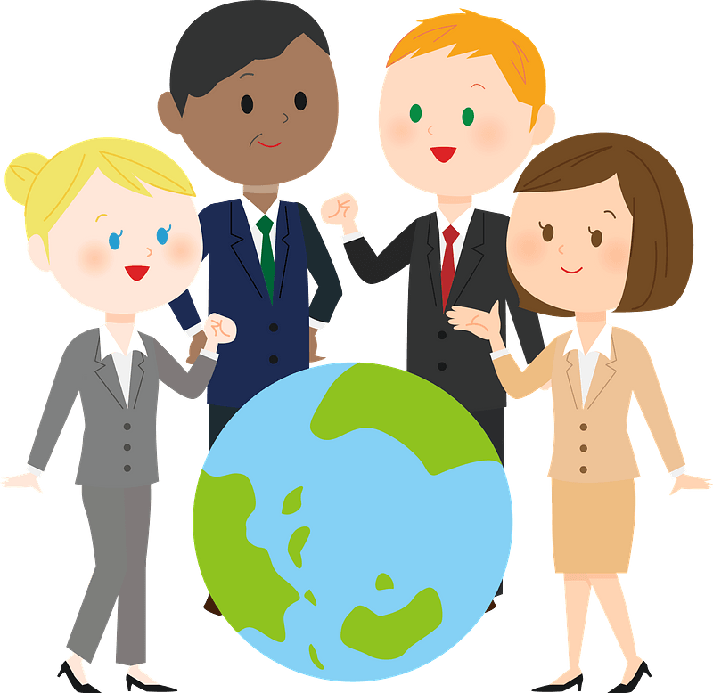 Business Persons from Around the Globe clipart