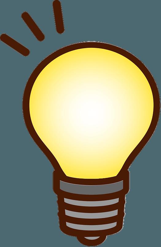Light Bulb clipart. Free download transparent .PNG | Creazilla