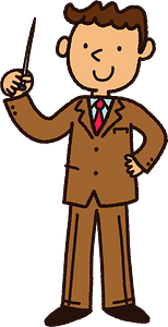 Male Teacher clipart