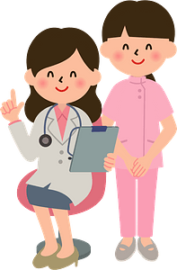 (Melanie) Medical Doctor and Nurse clipart