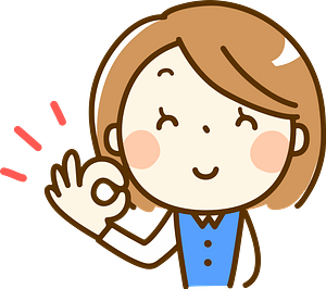 (Brenda) Office Lady is Giving Okay Sign clipart