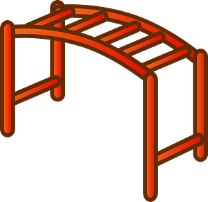 Overhead Ladder clipart