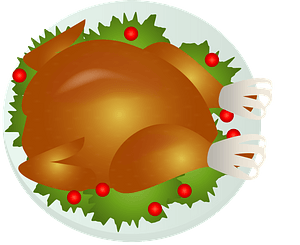 Roast Turkey clipart