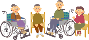 Senior People clipart